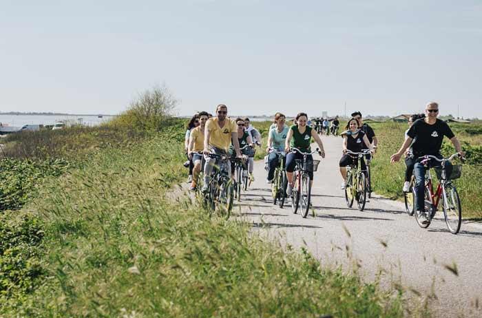 escursioni in bicicletta itinerari delta del po