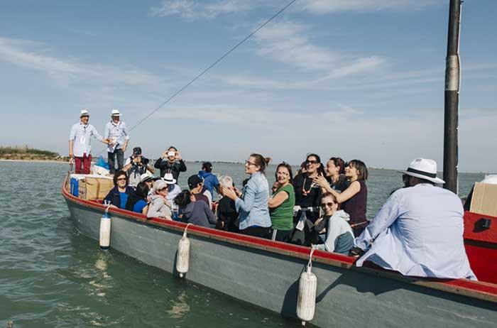 gite in barca canoa canarin