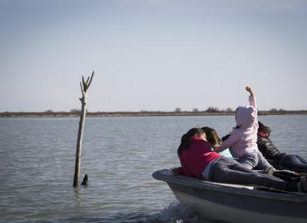 una gita in barca
